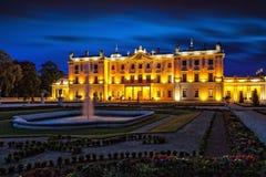 Branicki Palace at night Royalty Free Stock Photography