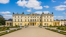 Branicki-Palast in Bialystok Stockfotografie