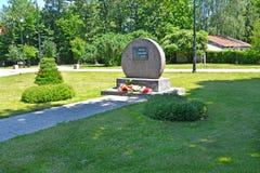 BRANIEWO, POLOGNE Le connexion mémorable la place de ` de parc commémoratif du ` de Sibériens Place polonaise de ` des textes de  images stock