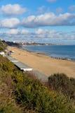 Branksome beach Poole Dorset England UK near to Bournemouth Stock Photo