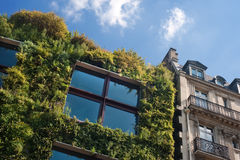 Branly museum in Paris - France royalty free stock photography