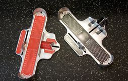 The Brannock device Stock Photos