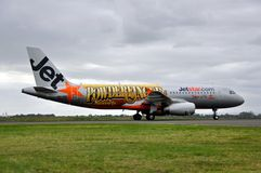Bransch för flygbuss A320 Arkivfoto
