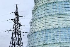 Bransch och energi Royaltyfri Fotografi