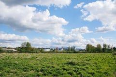 Bransch och landsbygd Royaltyfri Foto