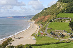 Branscombe beach Royalty Free Stock Photography