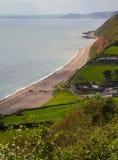 Branscombe beach in Devon Royalty Free Stock Photos