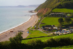 Branscombe in Devon Royalty Free Stock Photography
