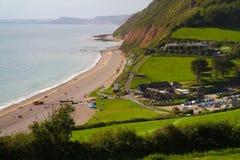 Branscombe em Devon fotografia de stock royalty free