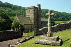 branscombe kościoła Obrazy Royalty Free