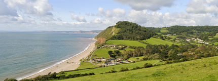 Branscombe  panorama Royalty Free Stock Image