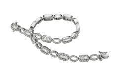 bransoletka diamenty Obrazy Royalty Free