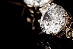 bransoletka diamenty Zdjęcie Royalty Free