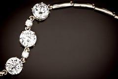 bransoletka diamenty Zdjęcie Stock