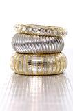 bransoletki moda Zdjęcia Royalty Free