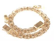 bransoletki złoto Zdjęcie Royalty Free