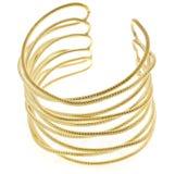 bransoletki złoto Obraz Stock