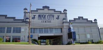 Центр города музыки, Branson Миссури стоковое фото rf
