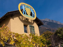 Branson ,fully, valais, SUISSE royalty free stock image