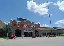 Branson Mill Craft Village, Branson, Missouri stock images