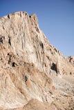 Brant berg, sequoianationalpark, montering Whitney Trail, östlig toppig bergskedja berg, Kalifornien royaltyfri fotografi
