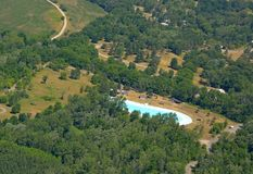 Brant Conservation Area pool Stock Image