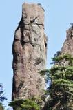 Brant klippa i sanqingshan fotografering för bildbyråer