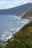 Brant kust på Atlanten royaltyfri fotografi