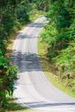 Brant landsväg arkivfoton
