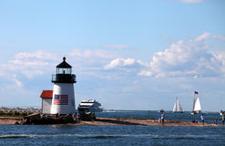 Free Brant Point Lighthouse Stock Photography - 20892722