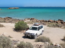 Brant punkt, Westernmost punkt, hajfjärd, västra Australien fotografering för bildbyråer
