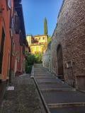 Brant vandringsled i Verona, Italien arkivfoton
