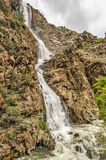 Brant vattenfall royaltyfri bild