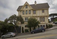 Branta gator i San Francisco royaltyfri fotografi