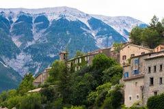Brantes na área de Ventoux em Provence foto de stock
