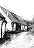 Brantevik в Skane, Швеци Стоковые Изображения