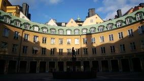 Brantingtorget à Stockholm photo stock