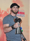 Brantley Gilbert. LOS ANGELES, CA - MARCH 29, 2015: Brantley Gilbert at the 2015 iHeart Radio Music Awards at the Shrine Auditorium Royalty Free Stock Photo