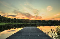 Brantry Lough Royalty Free Stock Images