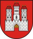 Brasão de Bratislava - Eslováquia Fotografia de Stock