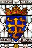 Brasão do cruzado medieval, cavaleiro, Cavalier r imagem de stock royalty free