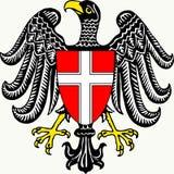 Brasão do estado federal de Viena - Áustria fotos de stock