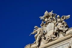 Brasão do papa Clemente XII fotos de stock royalty free