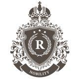 Brasão imperial - emblema real heráldico Imagem de Stock