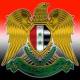 Brasão síria Foto de Stock Royalty Free