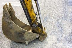 Bras d'excavatrice Image stock
