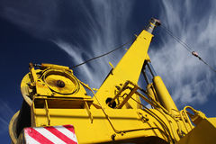 Bras de grue Photo stock