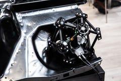 Bras de robot avec le système du balayage 3D image stock
