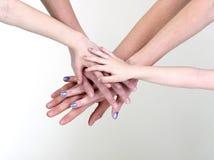 Bras et mains Images libres de droits