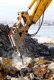 Bras hydraulique Image stock